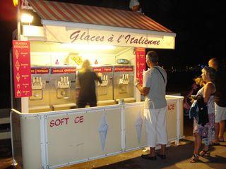 Glaces à l'italienne? Non, glaces à la française!!!