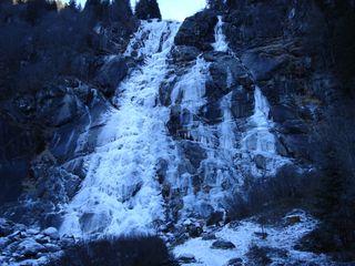 Cascate Nardis ghiacciate